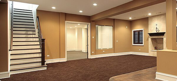 Basement remodeling with low ceilings scott hall remodeling for Basement cabinet ideas